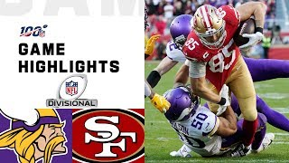 Download Vikings vs. 49ers Divisional Round Highlights | NFL 2019 Playoffs Mp3 and Videos