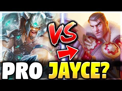 LANING AGAINST A PROFESSIONAL JAYCE PLAYER | Tryndamere Challenger Full Game - League of Legends