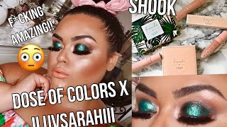 DOSE OF COLORS X ILUVSARAHII TUTORIAL & SWATCHES {GABRIELLAGLAMOUR}