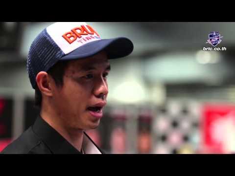 """สัมภาษณ์ """"ฐิติพงศ์ วโรกร"""" แข่งขัน ARRC ROUND 6 รุ่น Super sport 600cc. NO.100"""