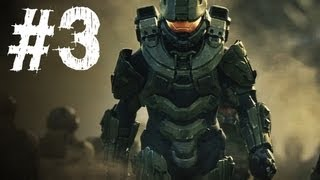 Halo 4 Gameplay Walkthrough Part 3 - Campaign Mission 2 - Promethean (H4)