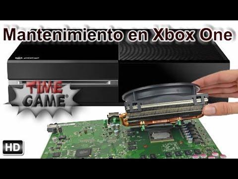 Desmontar y realizar el mantenimiento en Xbox One
