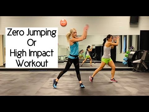 Zero Jumping or High Impact Workout
