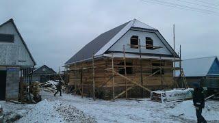 видео Ломаная крыша: устройство конструкции, строительство, как сделать дом с такой кровлей