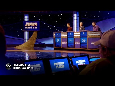 Vic Porcelli - Alex Trebek Gets Us Ready For Jeopardy! The Greatest of All Time