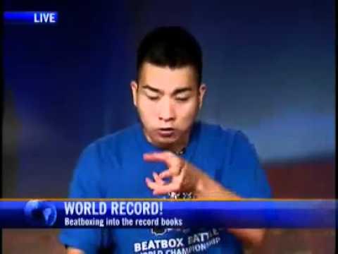 krNfx Beatbox Interview on CTV News Live