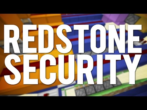 minecraft:-3-simple-redstone-security-systems