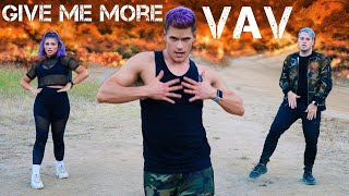 Gambar cover VAV - 'Give me more' (Feat. De La Ghetto & Play-N-Skillz) | Caleb Marshall | Dance Workout