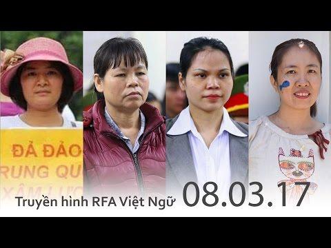 FULL | Truyền hình RFA 08.03.17 Tin tức thời sự Việt Nam