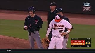 Texas Tech vs Oklahoma State Baseball Highlights - May 17