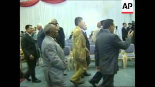 SOUTH AFRICA: INDONESIAN PRESIDENT SUHARTO VISITS TRADE FAIR