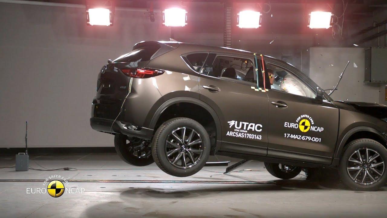 Mazda Cx 5 Crash Test Euro Ncap Rating Youtube