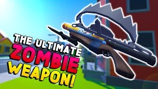 MAKING THE ULTIMATE ZOMBIE WEAPON! | Undead Development VR #4 - HTC Vive Gameplay