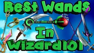 Wizard101 Wands! Best Wands And Where TO Get Them! (wizard101 wands...