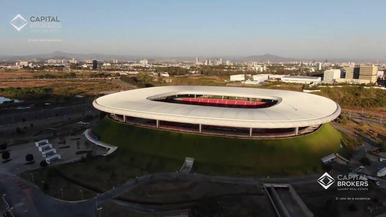 ¡Video aéreo del Estadio Chivas (Akron) Nov 2020.  el mejor de México! #Chivas #Jalisco #Guadalajara