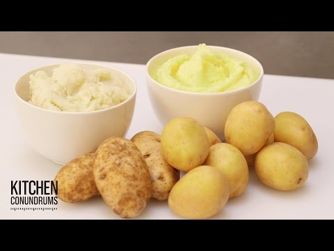 Save How to Make the Fluffiest Mashed Potatoes - Kitchen Conundrums with Thomas Joseph Images