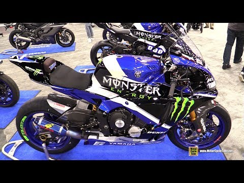 download 2018 Yamaha YZF R1 Moto America Racing Bike - Walkaround - 2018 AIMExpo Las Vegas