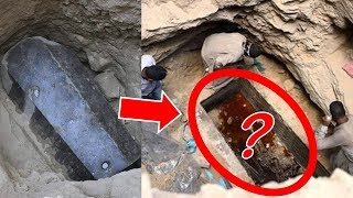 This is What You Must Know about OPENED Sarcophagus Discovered from Ancient Egypt – Egyptian Mummies