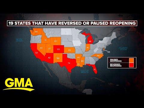 Record coronavirus surge as US prepares for holiday