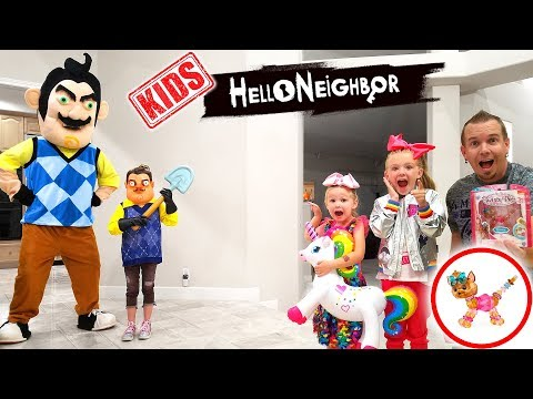 hello-neighbor-kid-in-real-life-steals-my-jojo-bow-bow-twisty-petz!-toy-scavenger-hunt!
