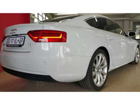2013 audi a5 a5 2 0tdi sportback multi auto for sale on auto trader south africa youtube. Black Bedroom Furniture Sets. Home Design Ideas