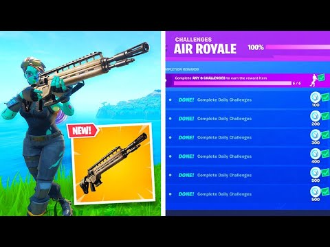 Fortnite V8.40 Patch Notes Just DROPPED And Take A Look At The New AIR ROYALE Challenges