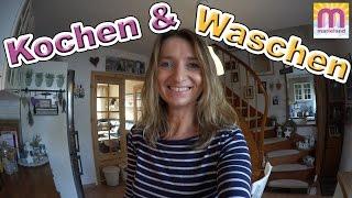 Kochen und Waschen | Waschmaschine kaputt? | Vlog #19 marieland