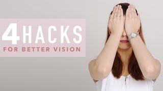 4 Exercises For Better Vision   Eye Yoga