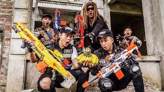 LTT Game Nerf War : Captain Warriors SEAL X Nerf Guns Fight Riot Group Rocket Crazy