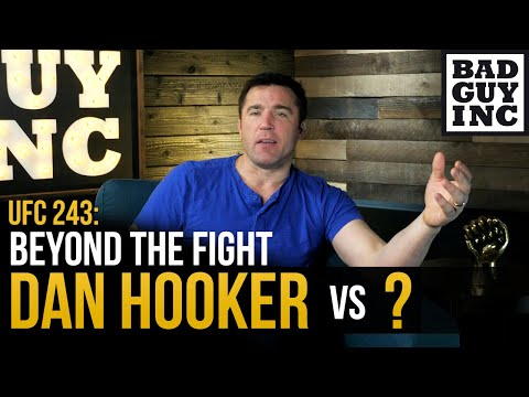 If Dan Hooker offended you, go fight him...