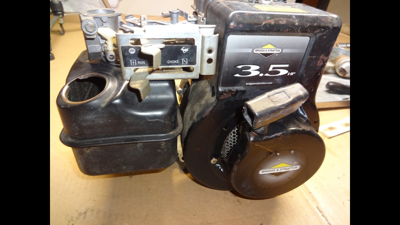 small resolution of briggs and stratton 3 5hp horizontal linkage