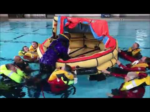 Offshore Safety at Sea training 2019