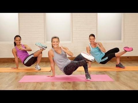 15-Minute No-Excuses Bodyweight Workout | Class FitSugar