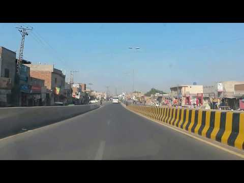 Beautiful Multan City Long way Travel (2015)