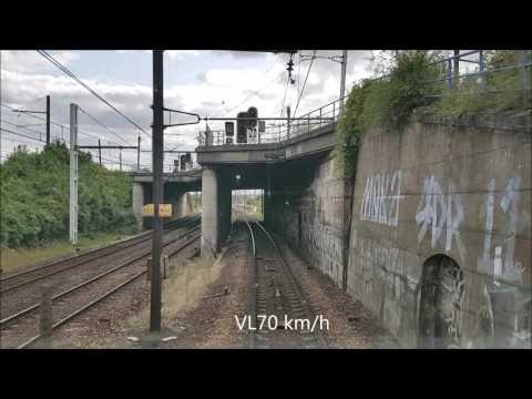 HLP De Créteil-Pompadour à Paris-Austerlitz Via Juvisy [Surprise à Juvisy]