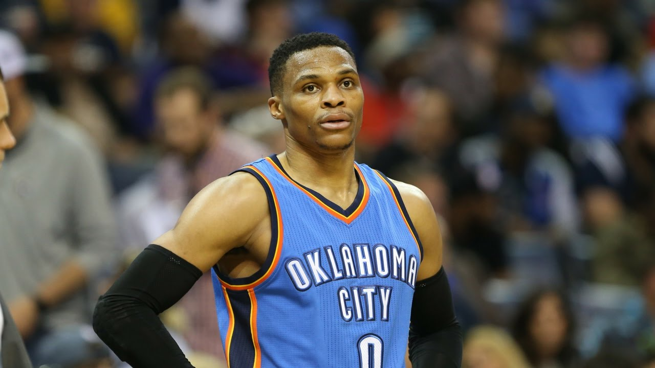 54a7e3ea997d Westbrook Ties Career-High with 8 3 s