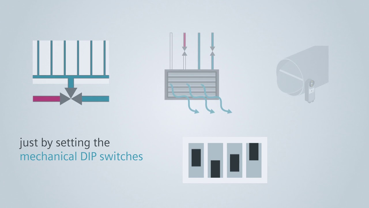 Siemens KNX thermostats for cost-effective room automation - YouTube