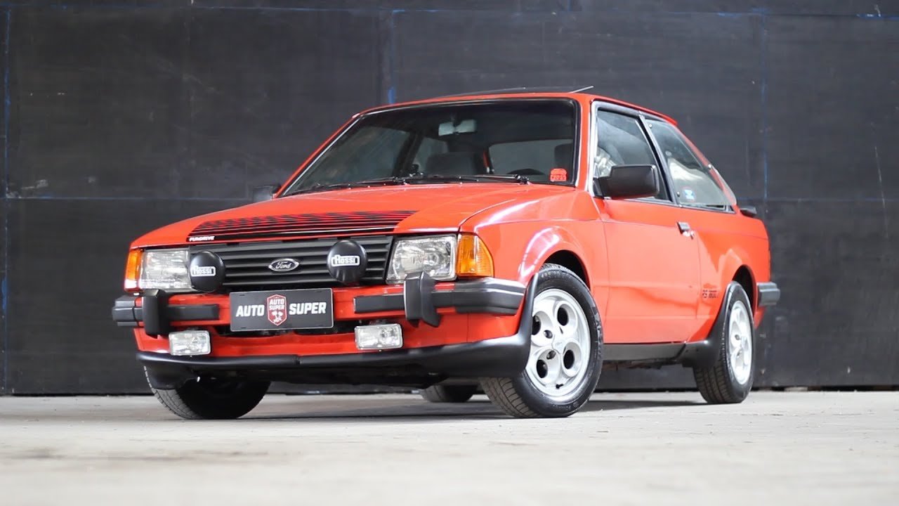 FORD ESCORT XR3 2.0 1985 (ft. Canal FunDrive) | Entrevista