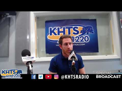 Brian Leff Director of Jazz Studies At West Ranch High School - Nov 7, 2017 - KHTS - Santa Clarita