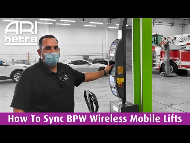 How to Easily Sync BPW Wireless Mobile Column Lifts | ARI-HETRA