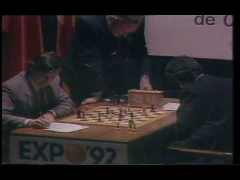 Kasparov blunders, Seville 1987, 23rd WC game