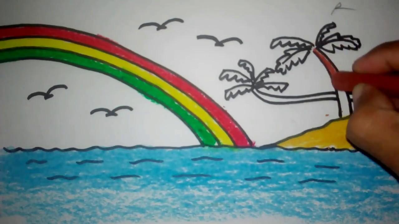 66 Gambar Pemandangan Laut Untuk Anak Tk Terbaik
