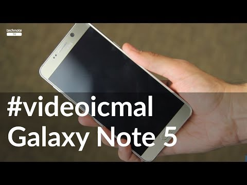 Samsung Galaxy Note 5 video icmal.