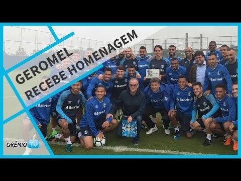 Geromel é homenageado por convocação à Copa do Mundo l GrêmioTV