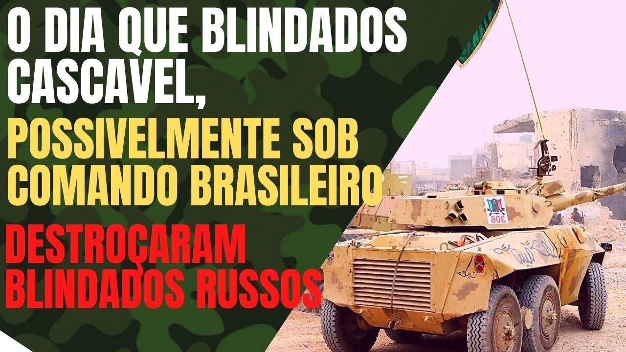 O DIA QUE BLINDADOS RUSSO SOVIÉTICOS FORAM DESTROÇADOS POR BLINDADOS CASCAVEL FABRICADOS NO BRASIL