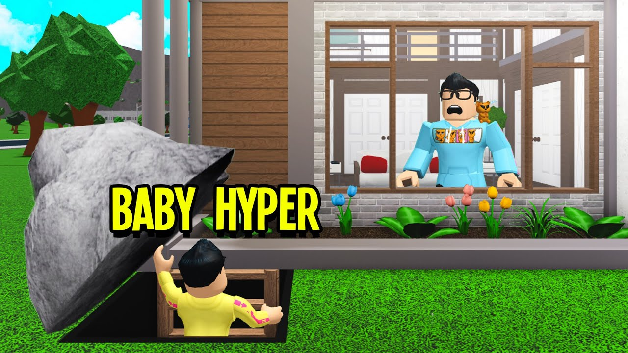 Hyper Waching Roblox Videos I Caught Baby Hyper Hiding A Secret I Exposed It Roblox Bloxburg Youtube