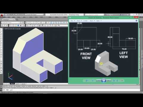 AutoCAD 3D modeling on cad software for beginners