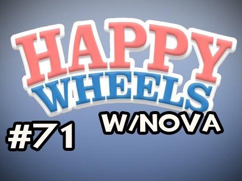 Happy Wheels W/Nova Ep.71 - The Map That Trolls