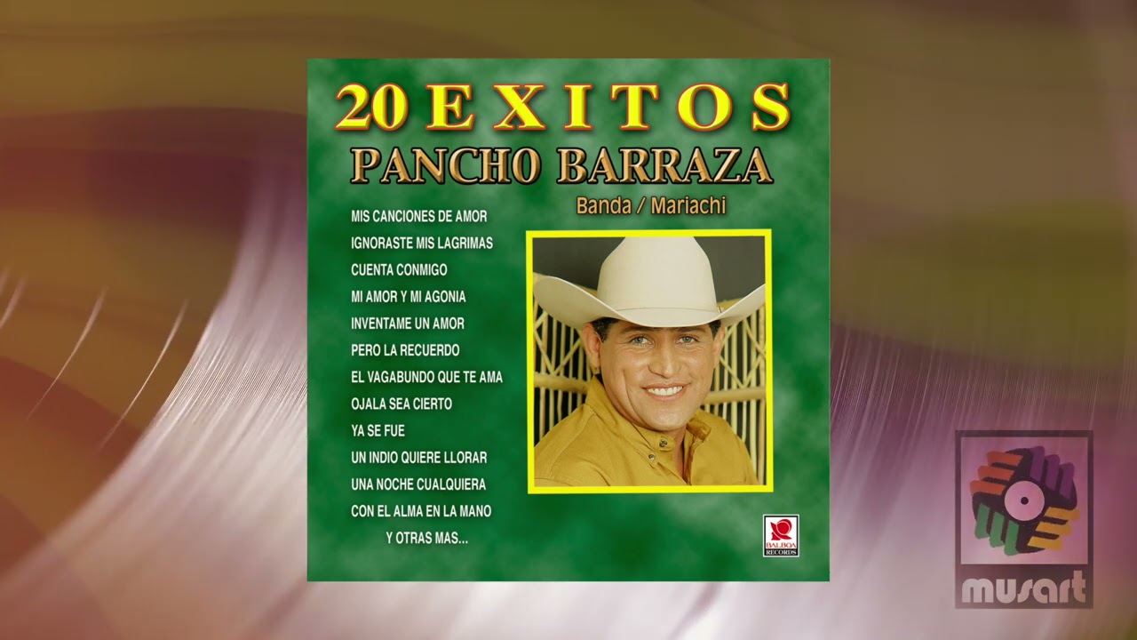 Pancho Barraza - Un Indio Quiere Llorar (Official Visualizer)