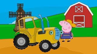 Мультики про машинки - Синий Трактор - Все серии подряд | Развивающие мультфильмы для детей